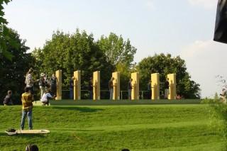 2004 Strohskulpturen ZDF Fernsehgarten_9