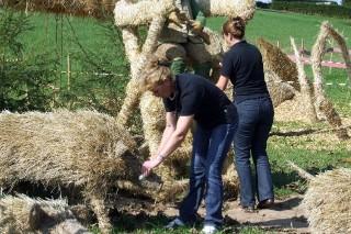 2009 Strohskulpturen Höchenschwand_29